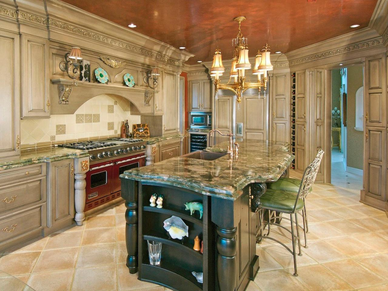 Large Kitchen Large Kitchen Islands Hgtv