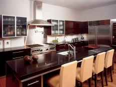 Modern Aesthetics Used to Create Custom Kitchen