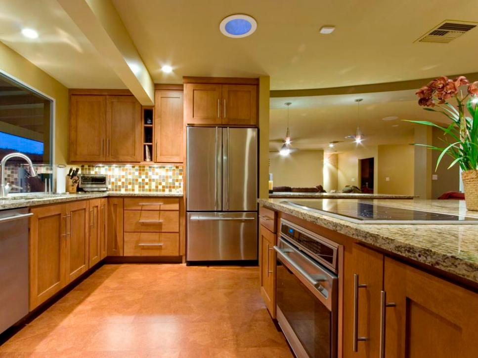 Gorgeous kitchen floors hgtv for Kitchen floors and cabinets
