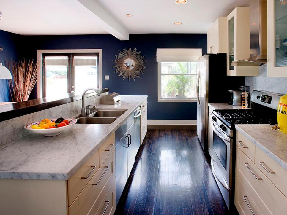 wonderful Pictures Of Galley Kitchen Remodels #3: HGTV.com