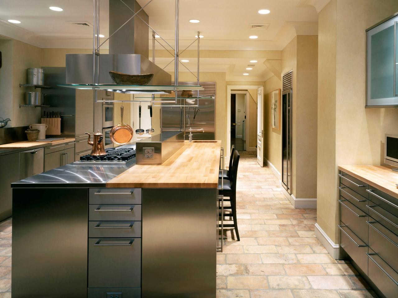 Recommended Flooring For Kitchens Flooring That Stands Up To Bathroom Wear Hgtv