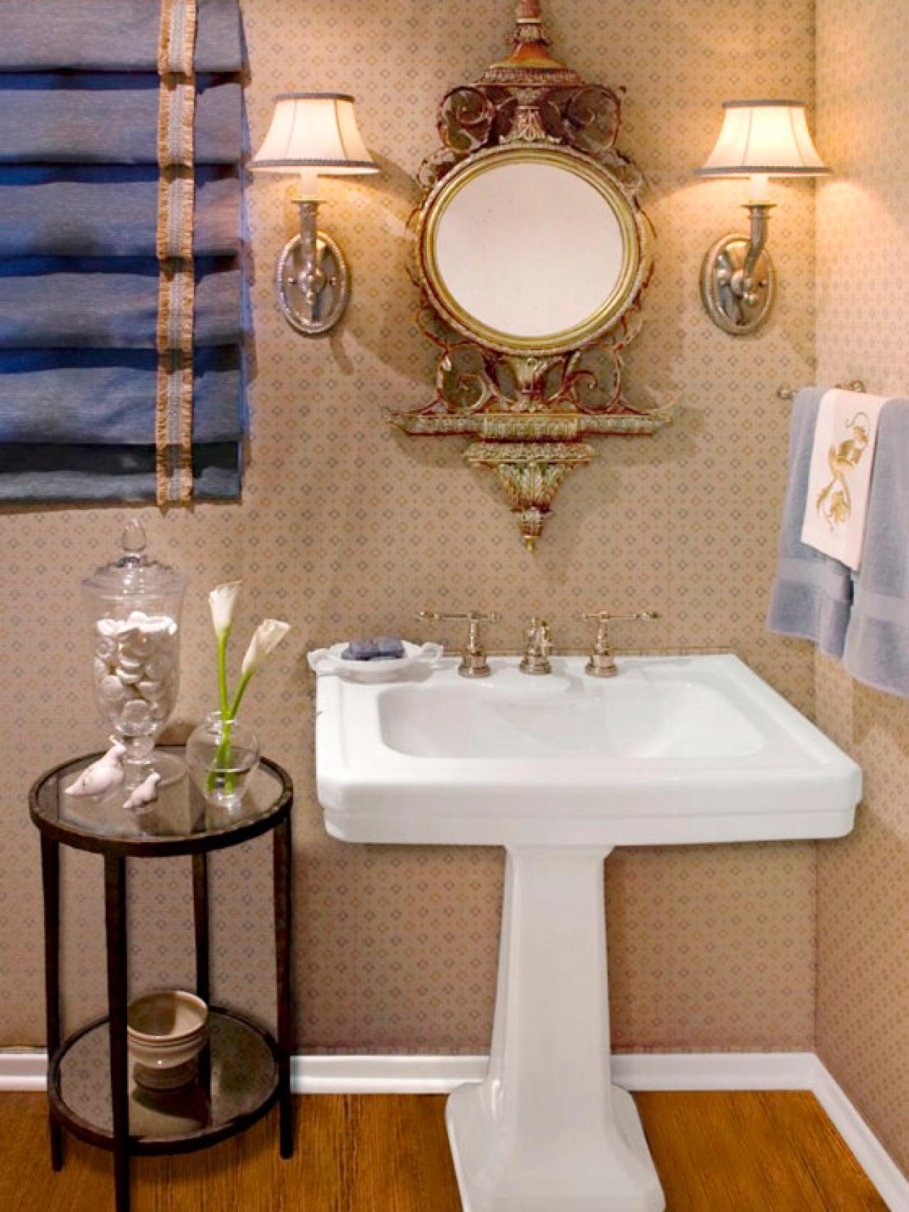 Half Bathroom Remodel Ideas half bathroom or powder room | hgtv