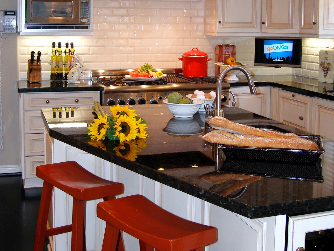 kitchen island breakfast bar: pictures & ideas from hgtv