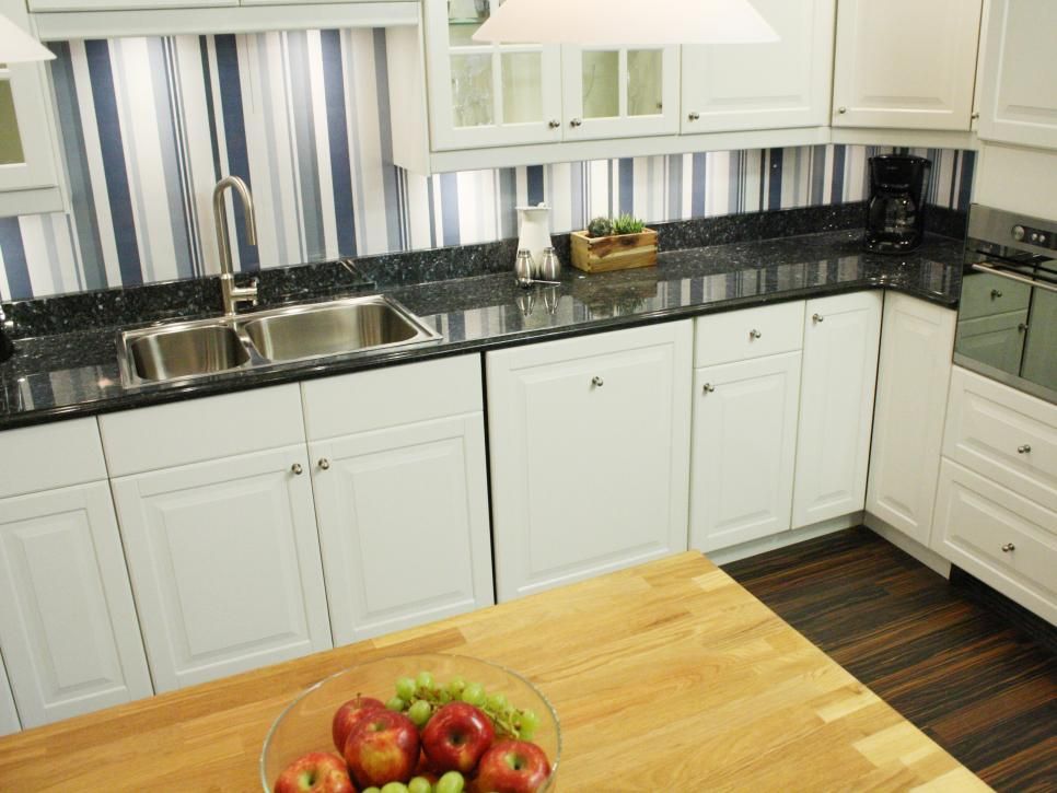 Backsplash Alternatives cheap versus steep: kitchen backsplashes | hgtv