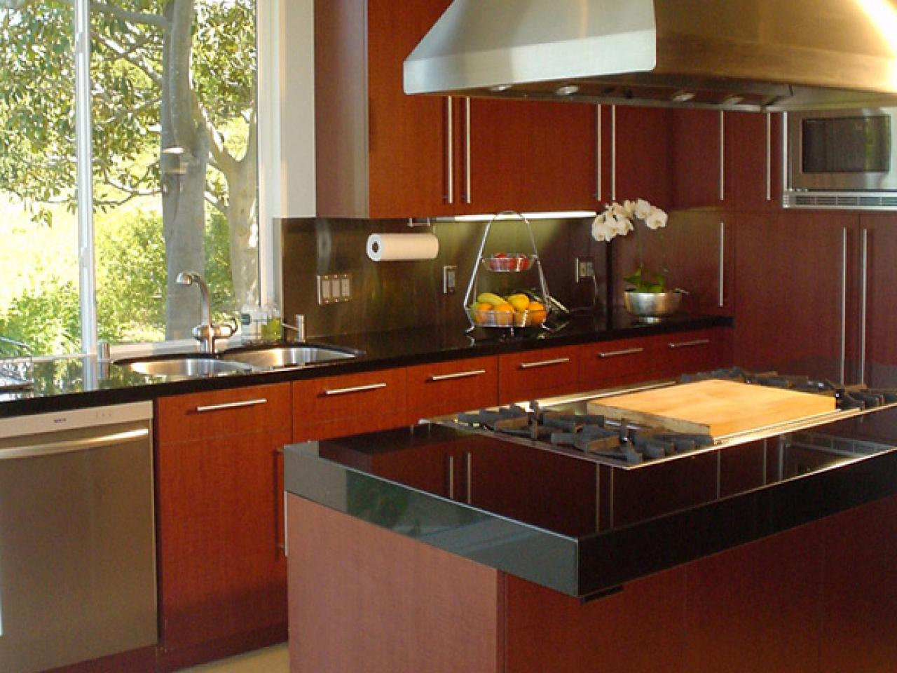 Warm Contemporary Kitchens Kitchen Designs Choose Kitchen Layouts Remodeling Materials Hgtv