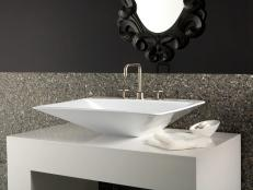 Engineered Stone Bathroom Countertops 4 Photos