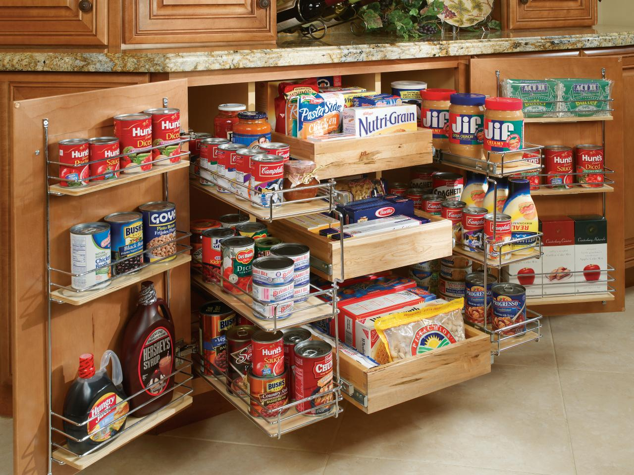 Kitchen Cabinets Storage pantry storage: pictures, options, tips & ideas | hgtv