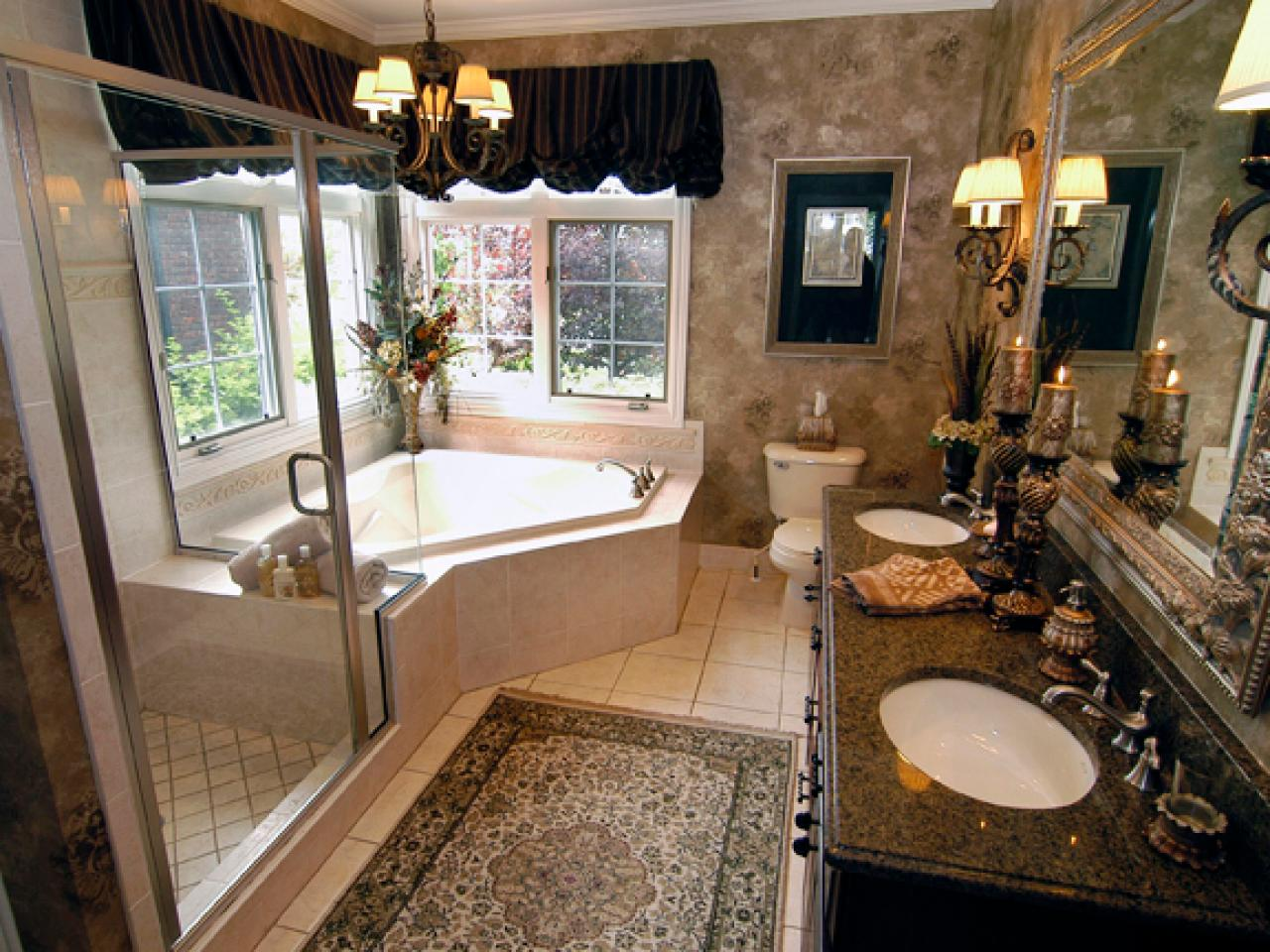 Small Master Bathroom Ideas Bathroom Space Planning  Hgtv