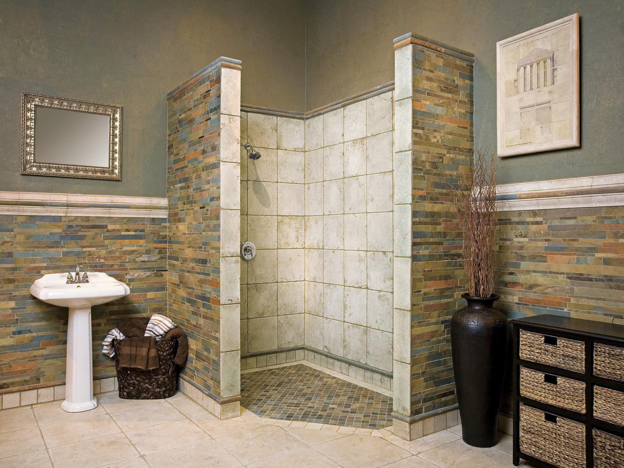 Bathroom remodel spotlight the headland project one week bath - Design A Bath That Grows With You Hgtv Bathroom Remodel For Handicapped People