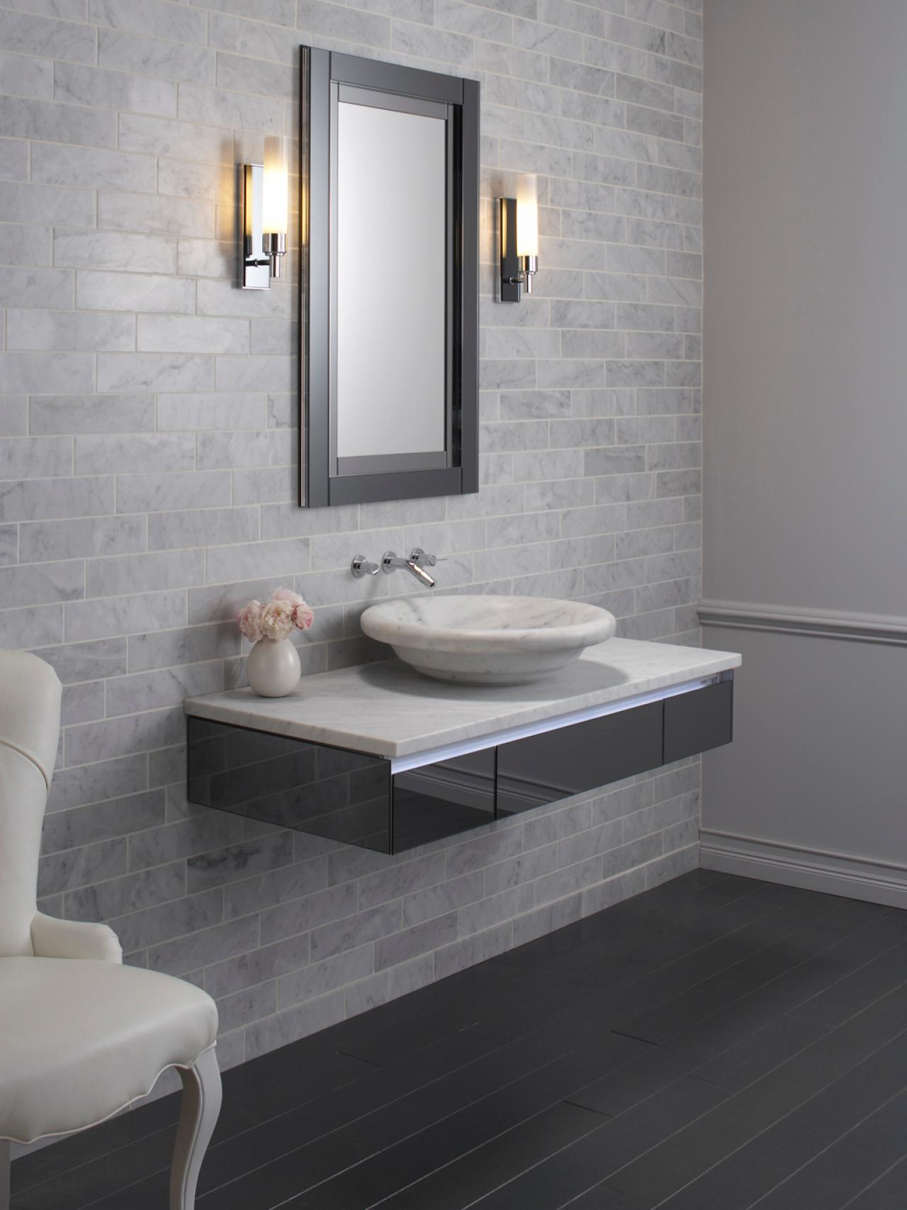 Bathroom space planning hgtv for Bathroom sink designs