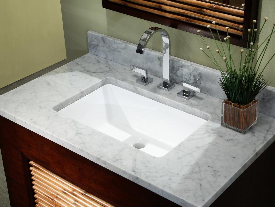 Bathroom sink styles hgtv for Bathroom sink designs