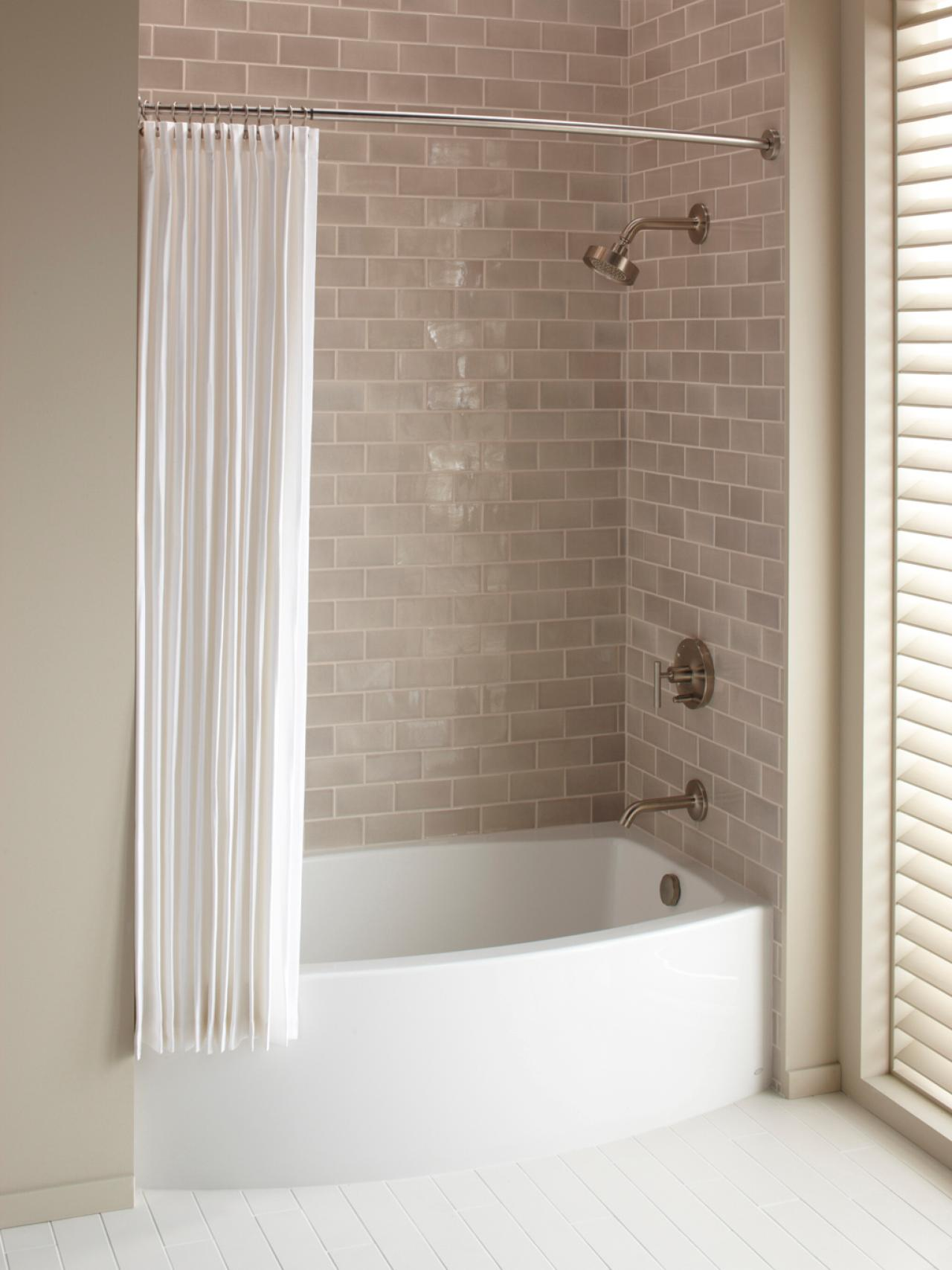 Kohler Tub And Shower : cheap bathtub shower combination installing a tub and shower combo ...
