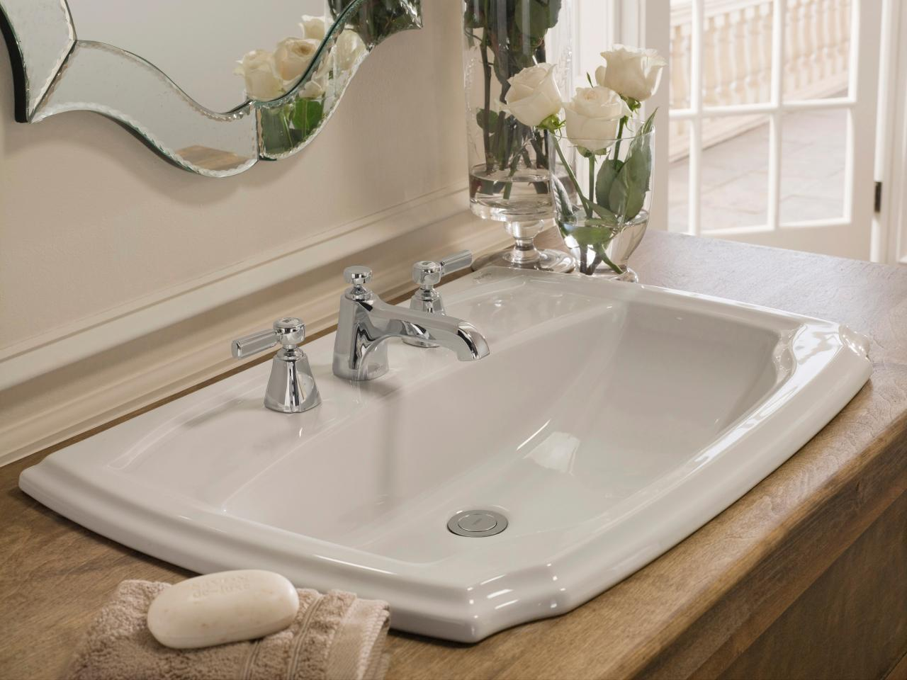 Self Rimming Sink A Self Rimming Sink Is The Easiest To