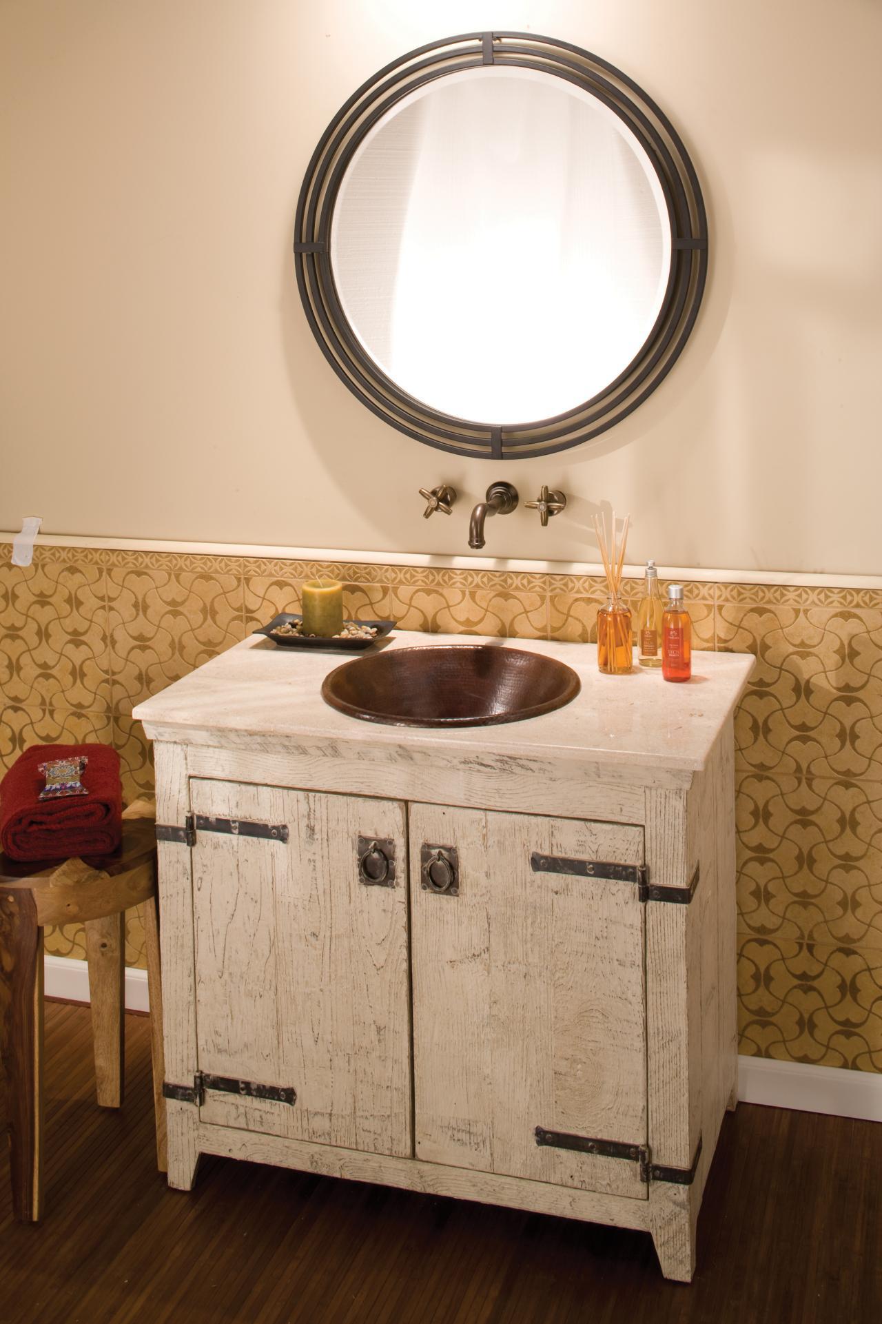 Choosing Bathroom Cabinets #1: