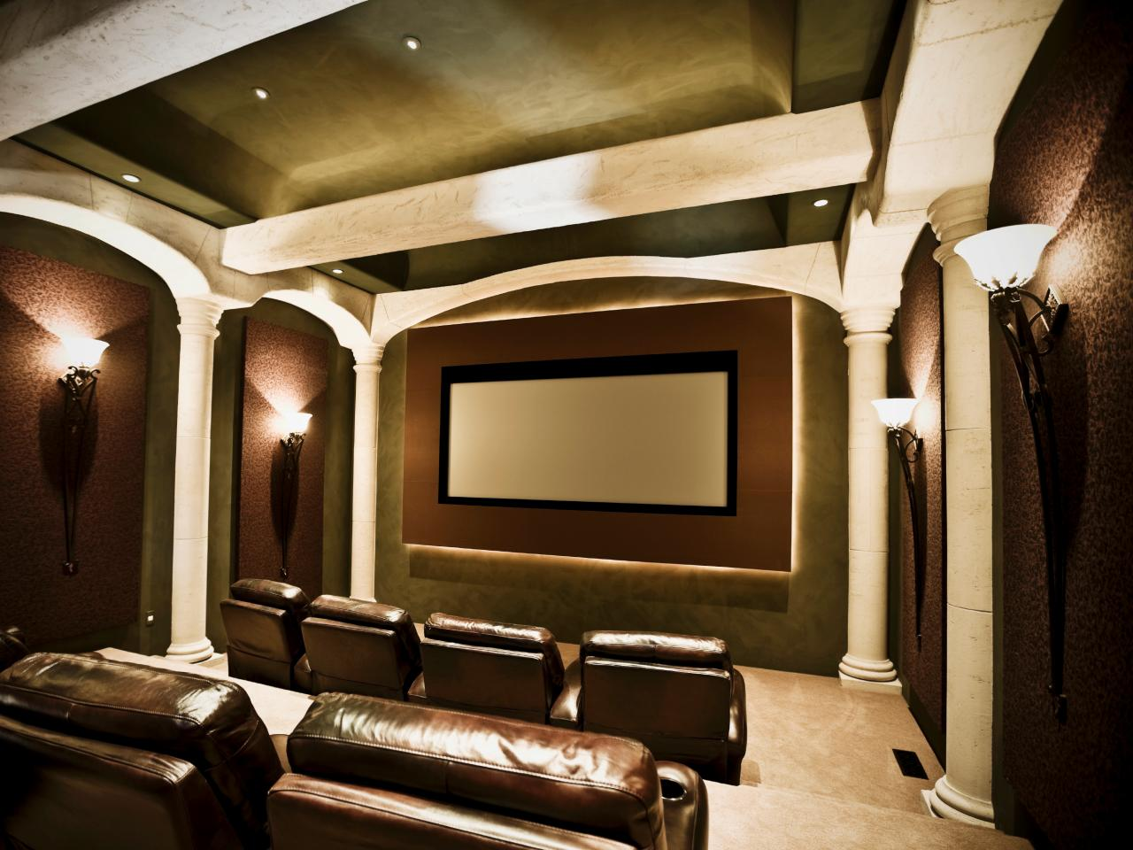 Clean Comfort. This Home Theater ...