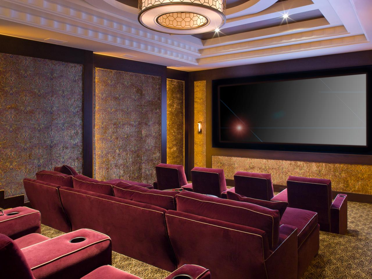 Home Theater Seating Ideas: Pictures, Options, Tips & Ideas  HGTV