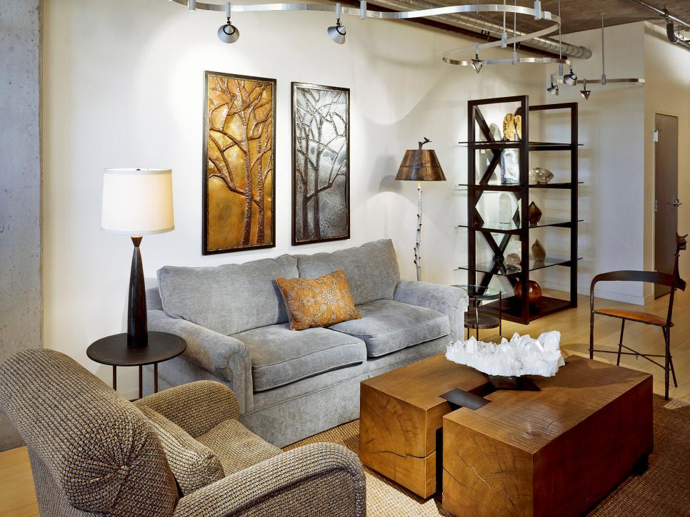 Living room lighting designs hgtv for Lighting living room ideas