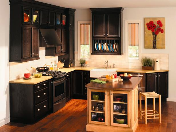 quality cabinets classic ii oak espresso. beautiful ideas. Home Design Ideas