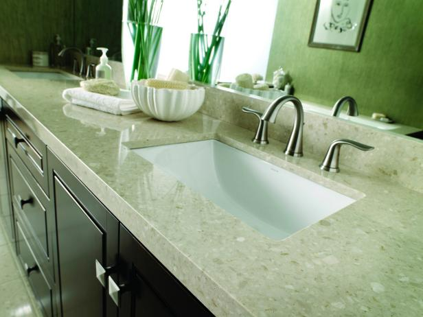 Bathroom Countertop Surface Options : Cosentino Marlique Marble Bottachino Counter Top