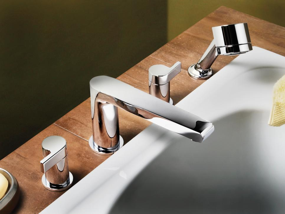 Various styles of faucet integration hgtv for How to clean pitted chrome bathroom fixtures