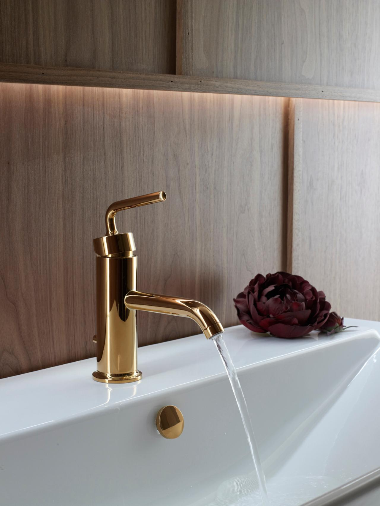 Brass Bathroom Faucets Hgtv
