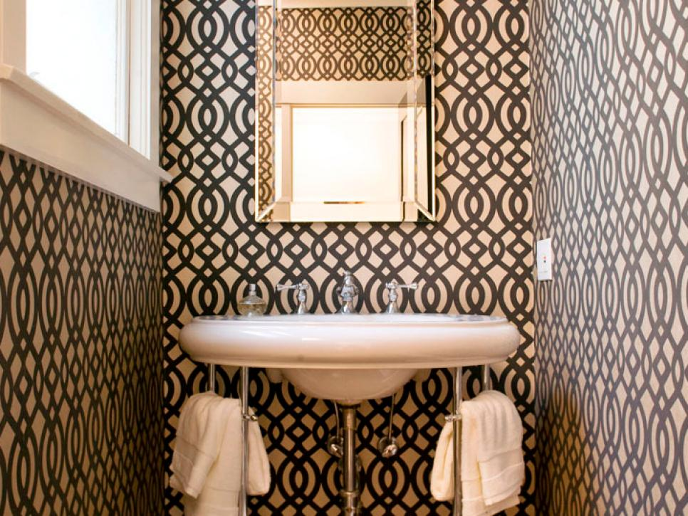 Powder Room Design Ideas Half Baths And Powder Rooms Hgtv