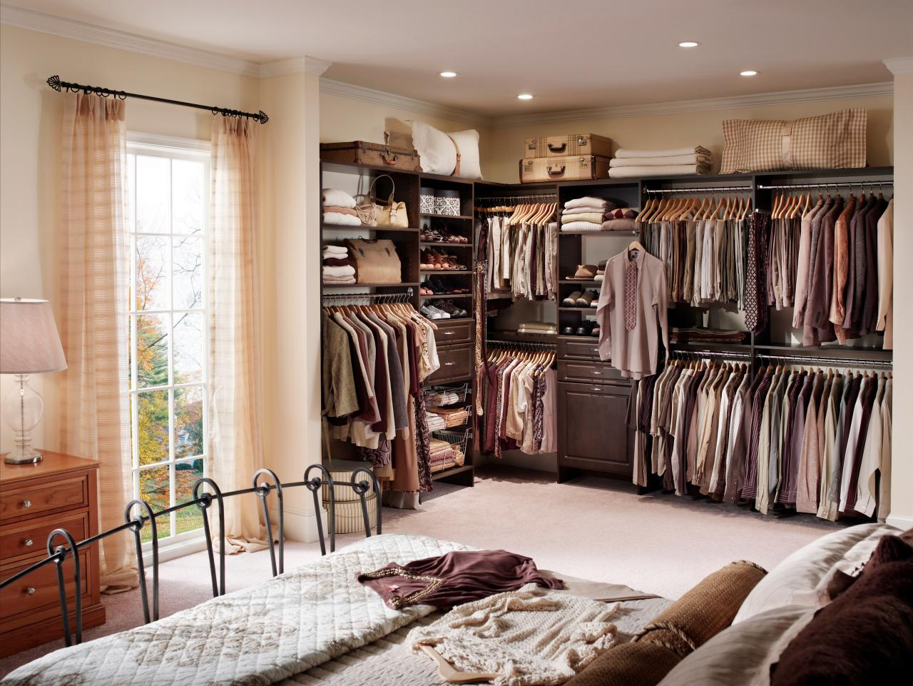 top 3 styles of closets hgtv space savvy