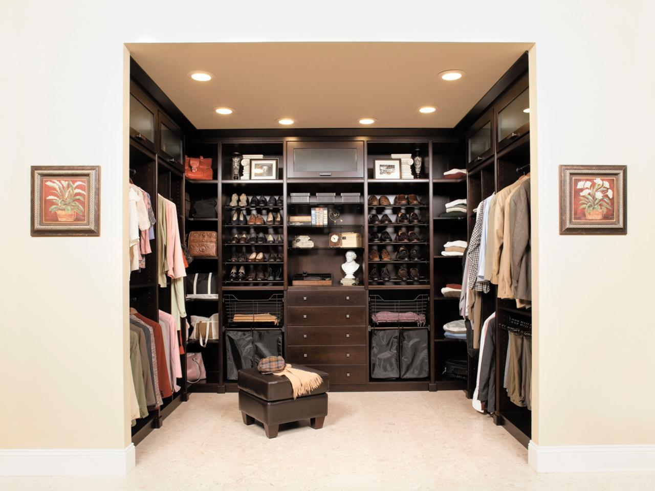 Master Closet Design Ideas