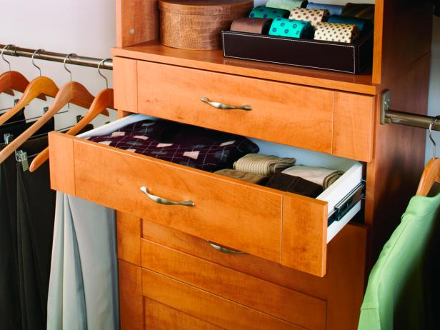 Closet Storage Drawers Hgtv