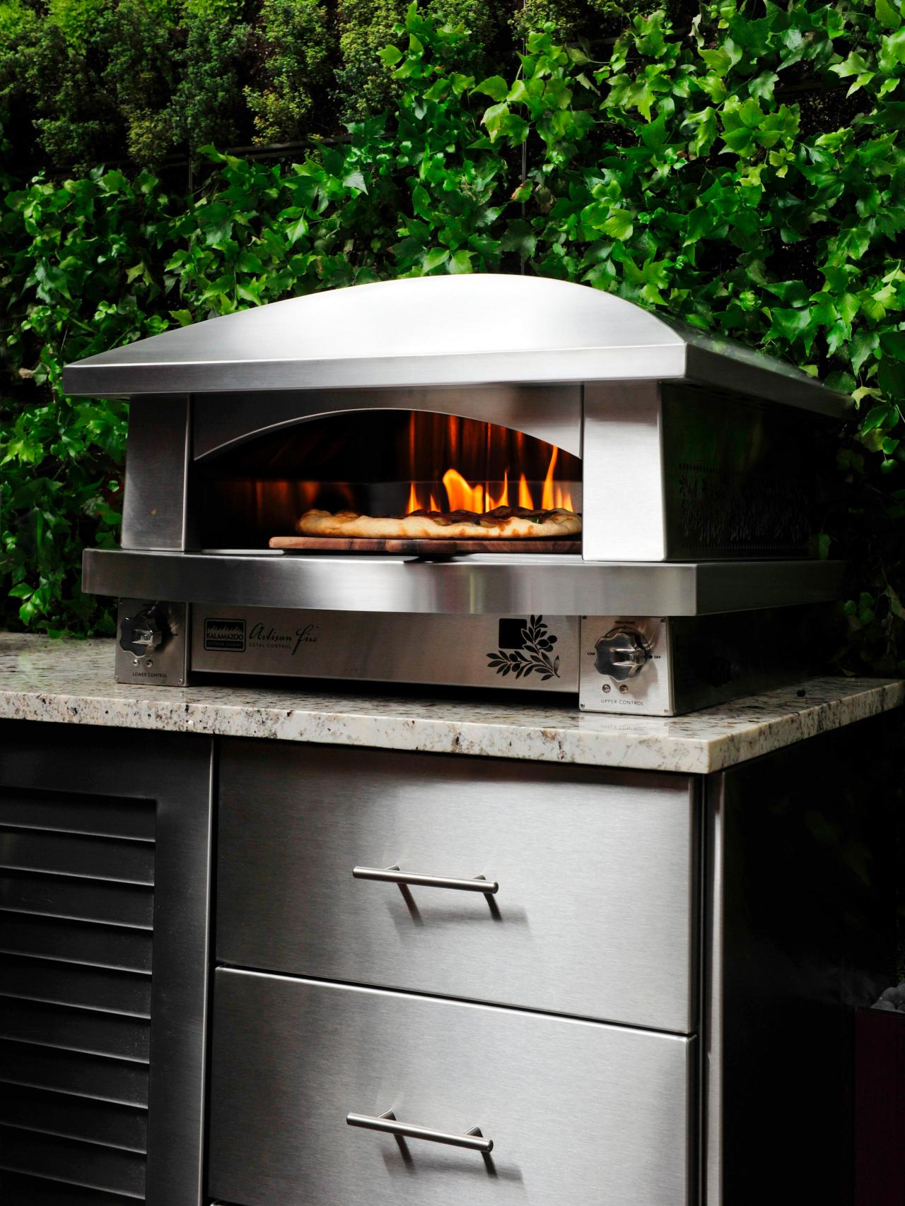 Outdoor Barbecue Kitchen Designs Charcoal Vs Gas Outdoor Grills Hgtv