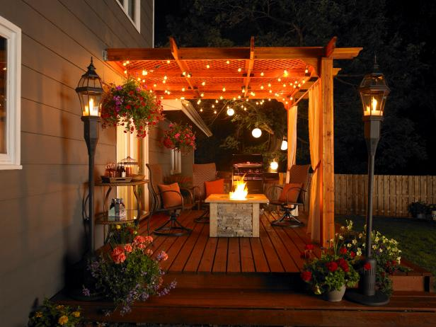 Outdoor Great Room Patio Pergola