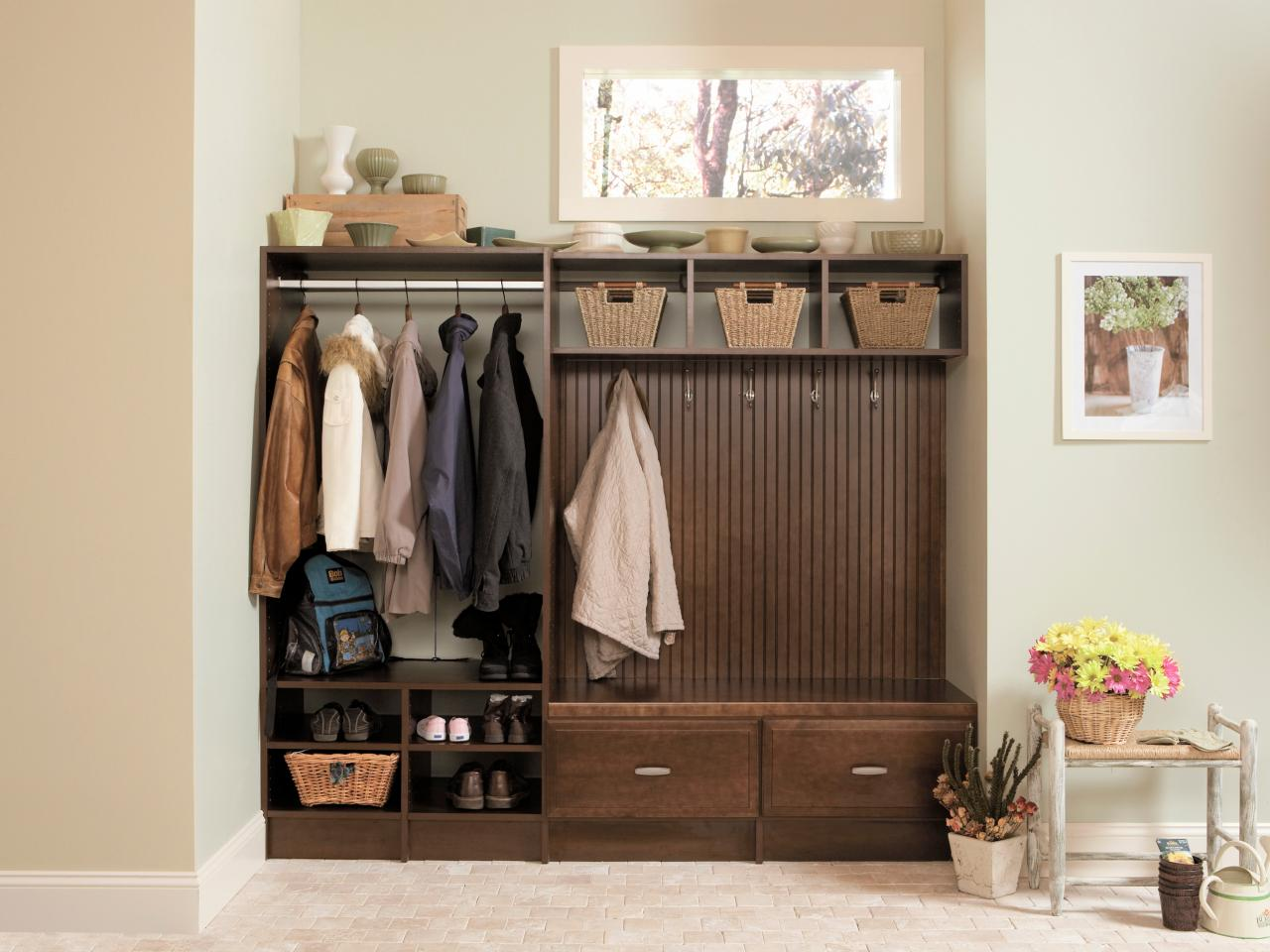 Shelves And Benches For Mudrooms Hgtv