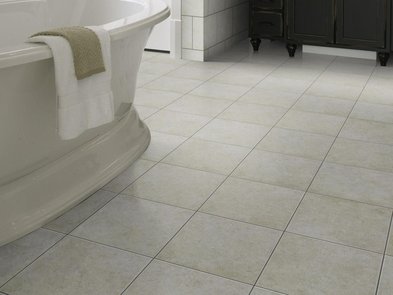 Why homeowners love ceramic tile hgtv Images of bathroom tile floors