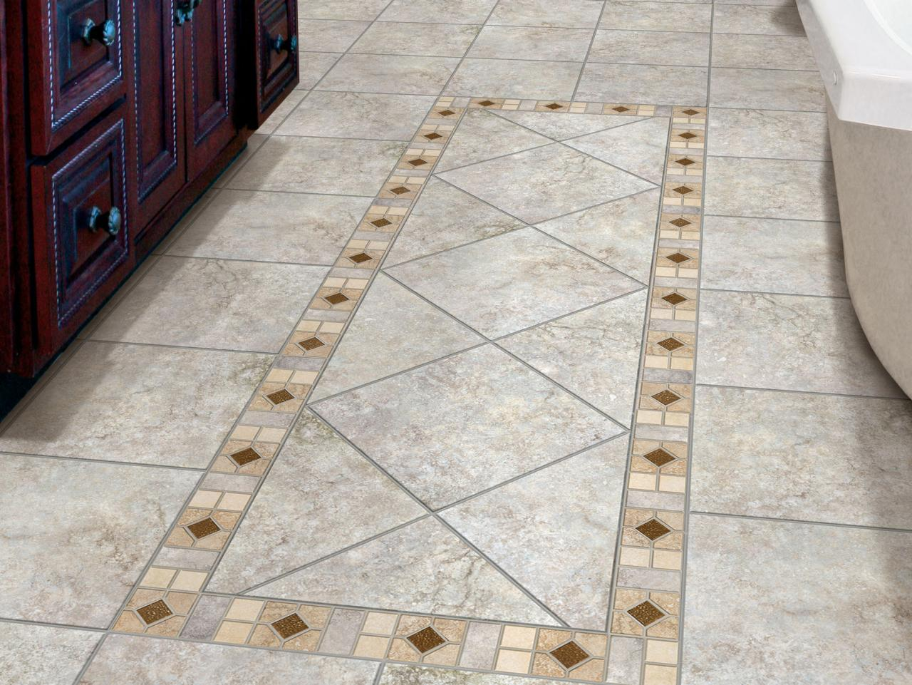 Bathroom Floor Tile Designs Reasons To Choose Porcelain Tile Hgtv