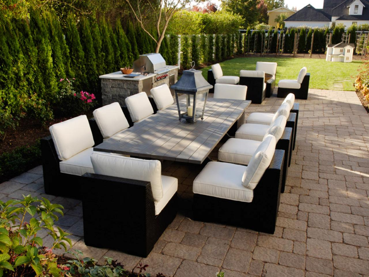 Patio Design: Size And Shape