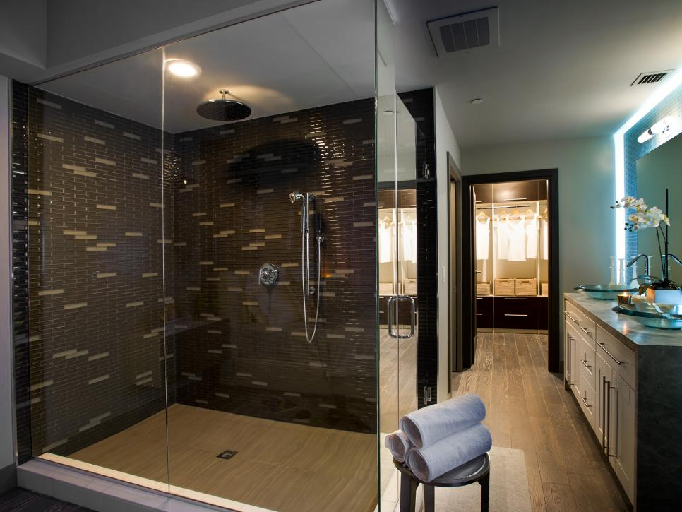 Bathroom shower designs hgtv for Bathroom shower ideas