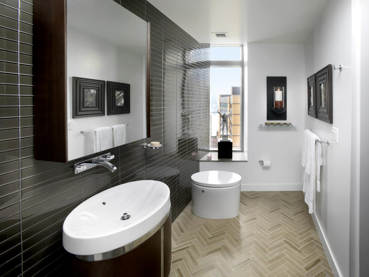 20 small bathroom design ideas bathroom ideas designs for Contemporary bathrooms