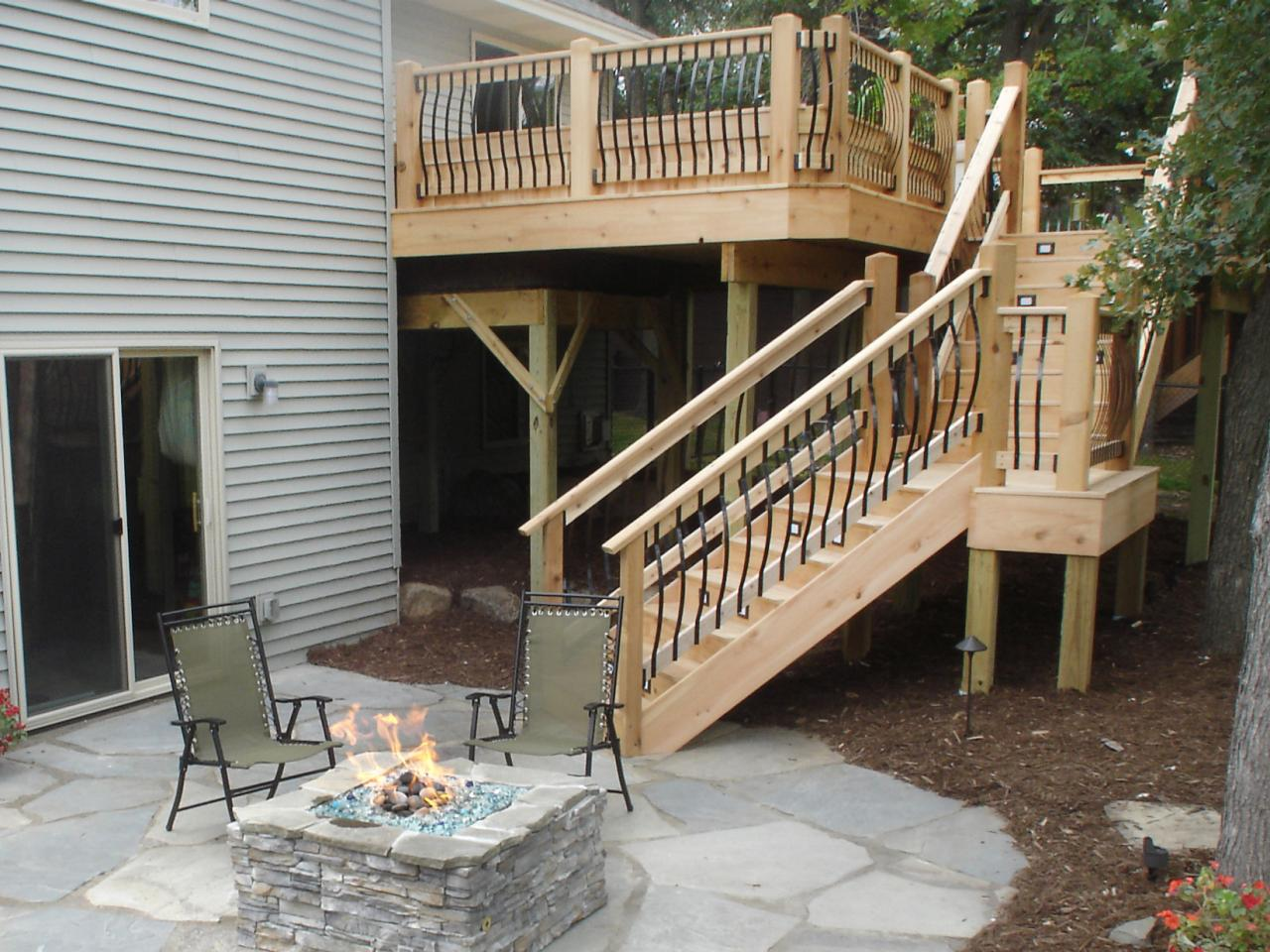 deck stairs and steps s4x3 as seen on sweat equity wood stairs