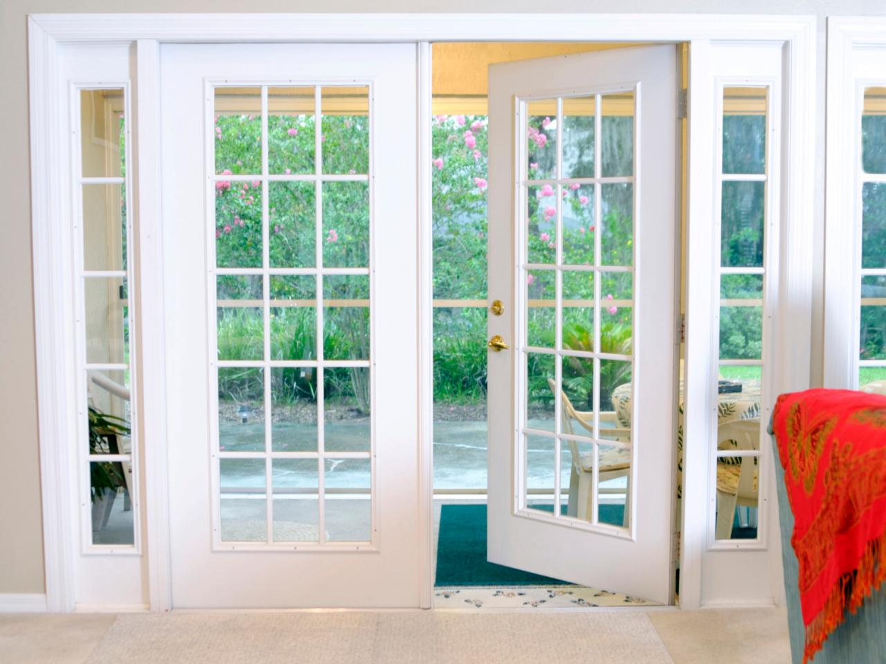 French patio doors hgtv for French window design
