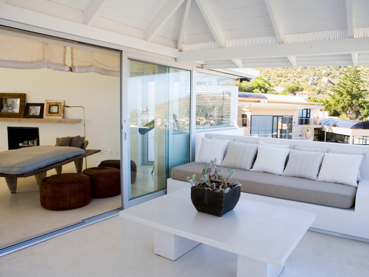 sliding glass walls for patios | hgtv