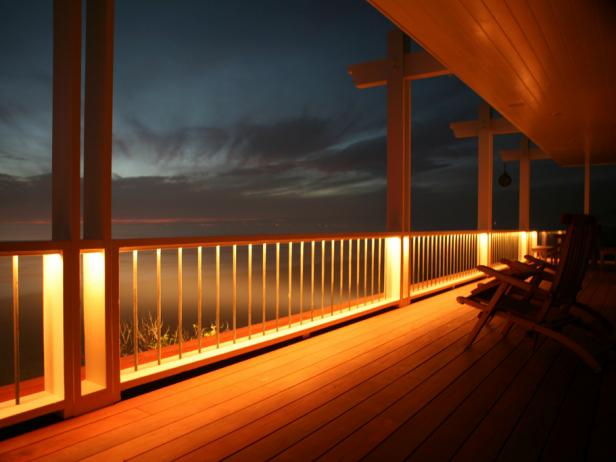 Deck Lighting Options HGTV