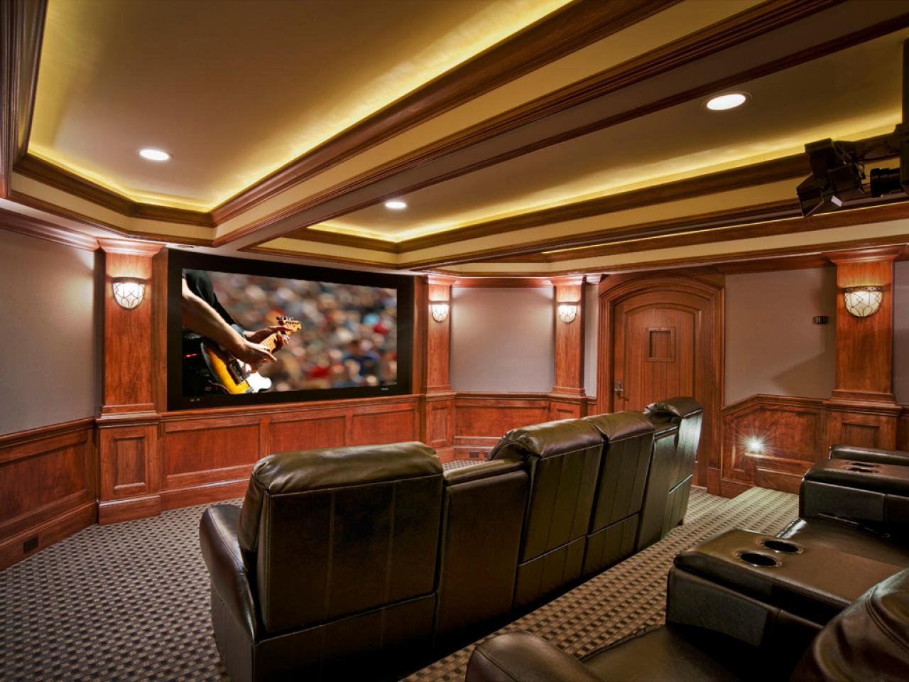 Basement Home Theaters And Media Rooms