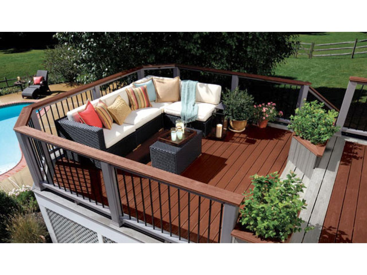 Budgeting for a deck hgtv Deck design ideas