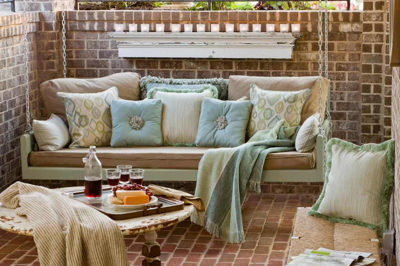 seating secrets for your porch outdoor design landscaping ideas porches decks patios hgtv. Black Bedroom Furniture Sets. Home Design Ideas