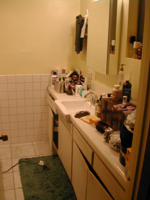 Before Photo of Inefficient Master Bath