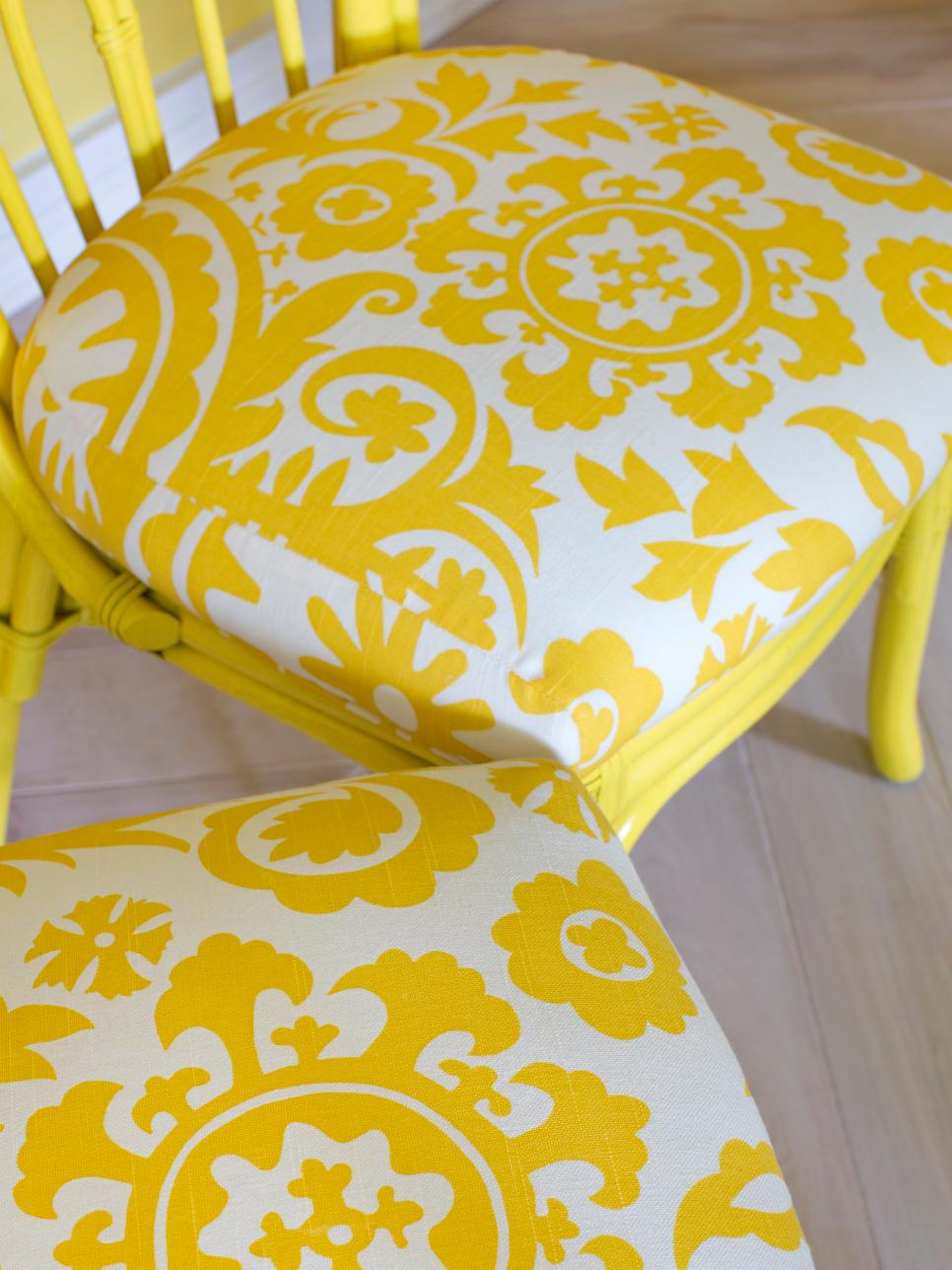 Bright Yellow Breakfast Room HGTV