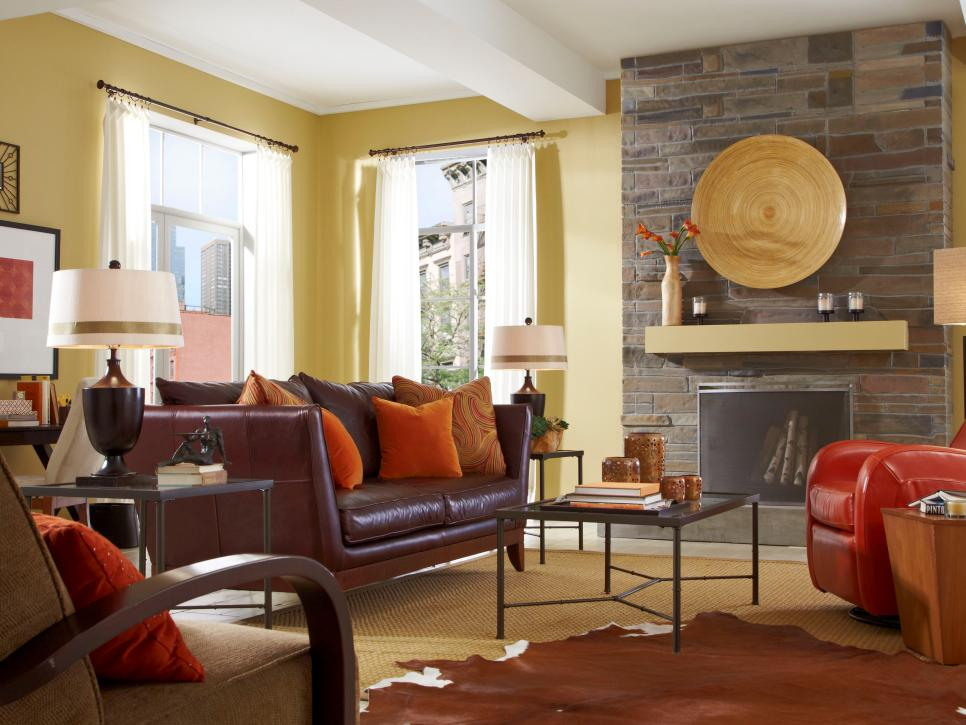Contemporary Living Room Design Ideas Pleasing Design A Contemporary Living Room  Hgtv