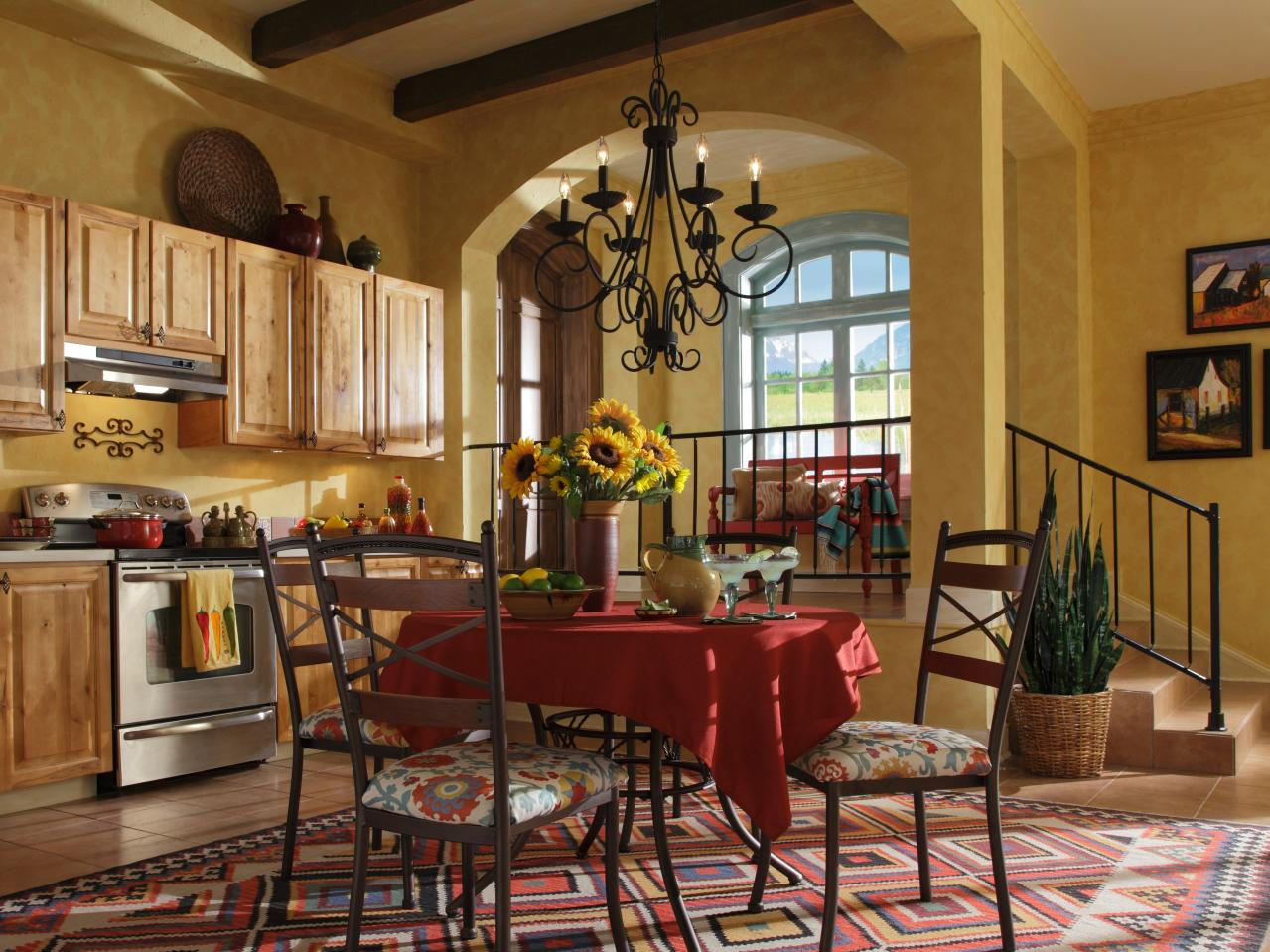 Interior Details For Southwestern Style Kitchen Designs