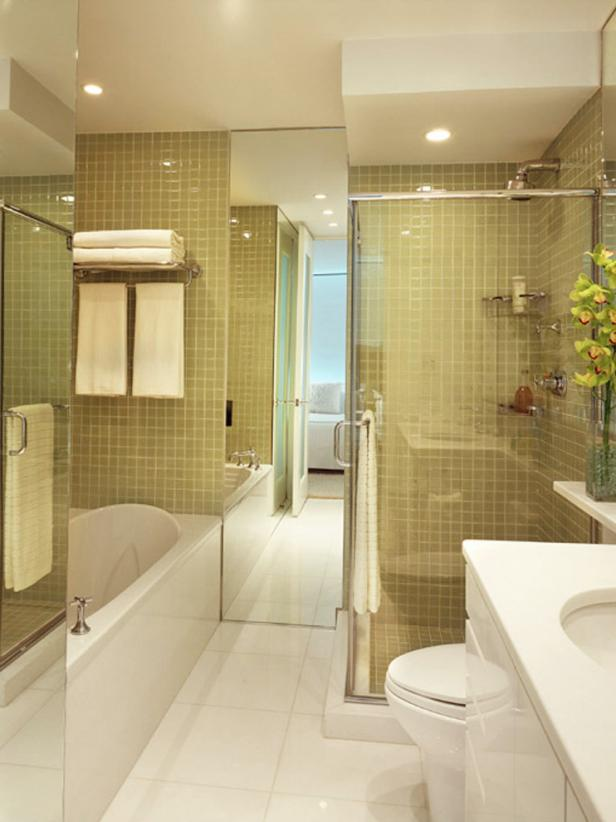 5 great green bathrooms hgtv Hgtv bathroom remodel pictures