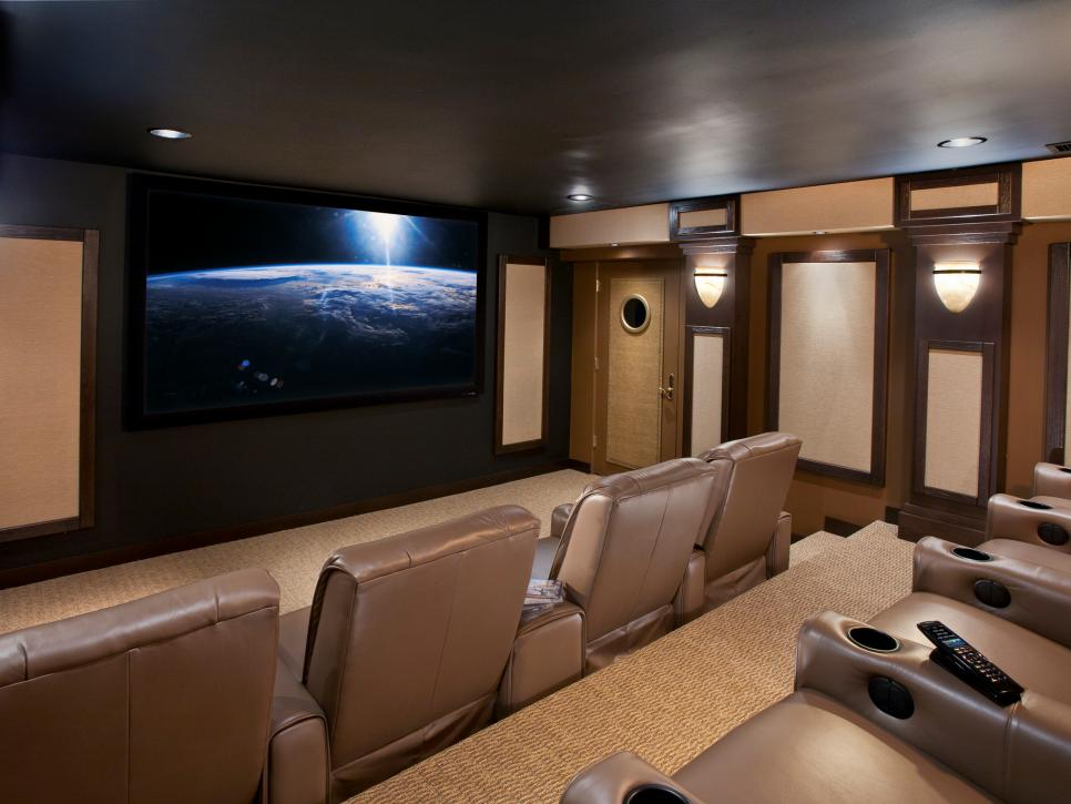 Cedia 2012 home theater finalist home cinema escape hgtv Home cinema interior design ideas